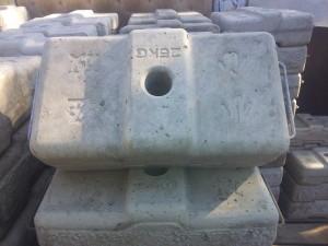 Груз для консолей к строительной люльке