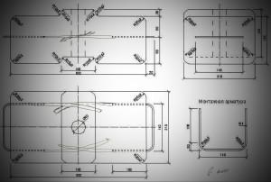 Контргруз для китайской строительной люльке размеры